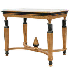 19th Century Scandinavian Center Table