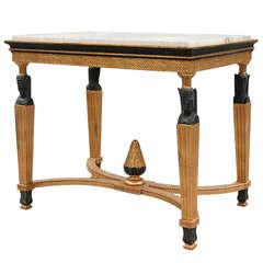 19th Century Scandinavian Center Table