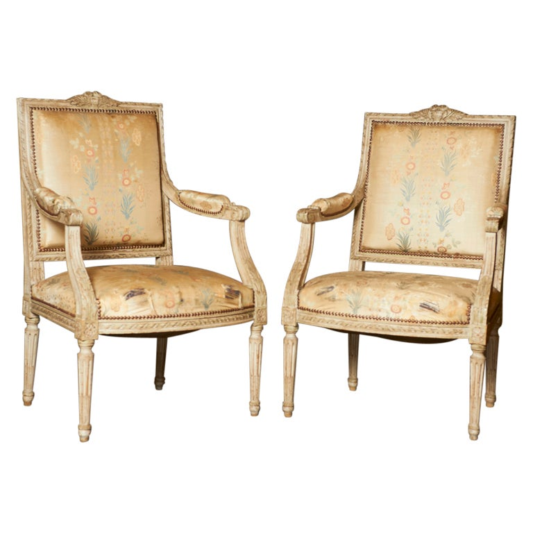 French Neoclassical Furniture Pair Of French Neoclassic