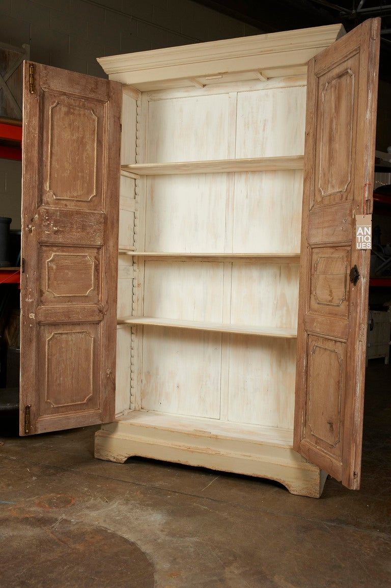 French armoire made from antique French Directoire period doors 2