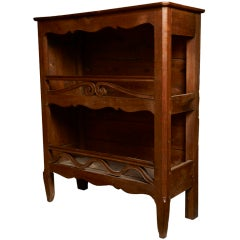 French fruitwood estanier, c. 1790-1820