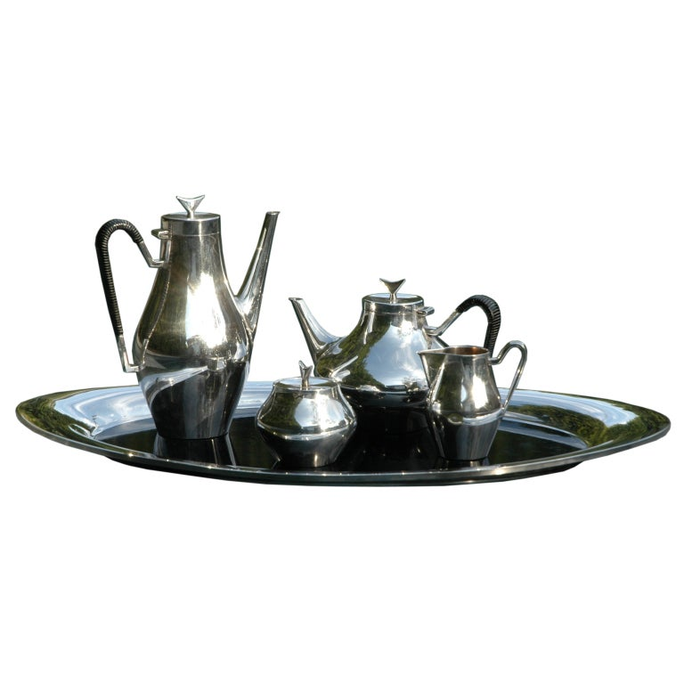 Denmark Quot Tea And Coffee Service By John Prip For Reed And