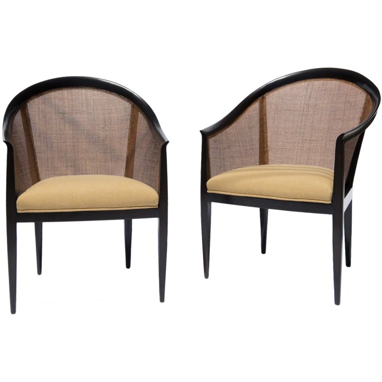 Harvey Probber Armchairs at 1stdibs