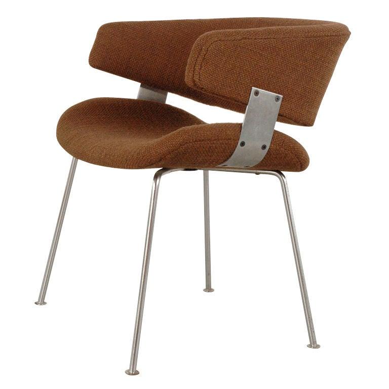 Dutch Desk Chair By Geoffrey Hartcourt At 1stdibs