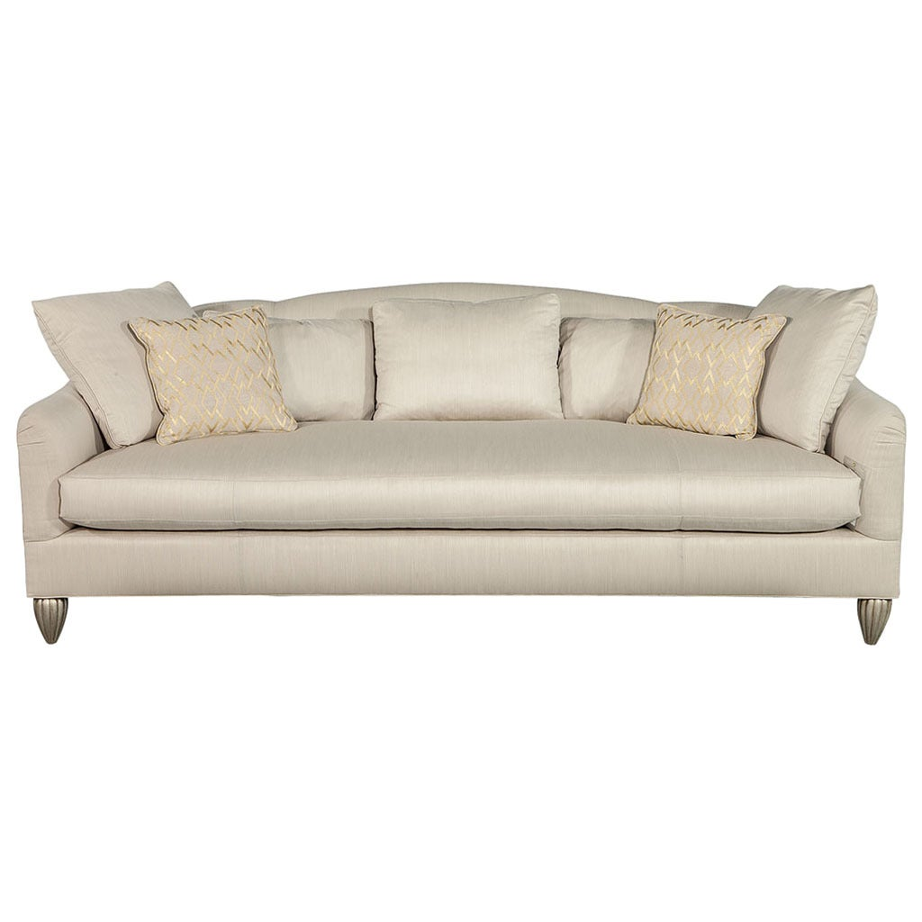 Baker furniture soiree sofa for sale at 1stdibs for Furniture furniture