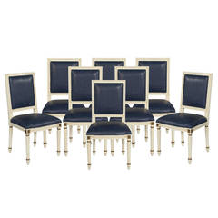 Custom Louis XVI Dining Chairs