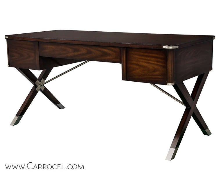 Asheworth Campaign Office Desk By Hickory Chair 3