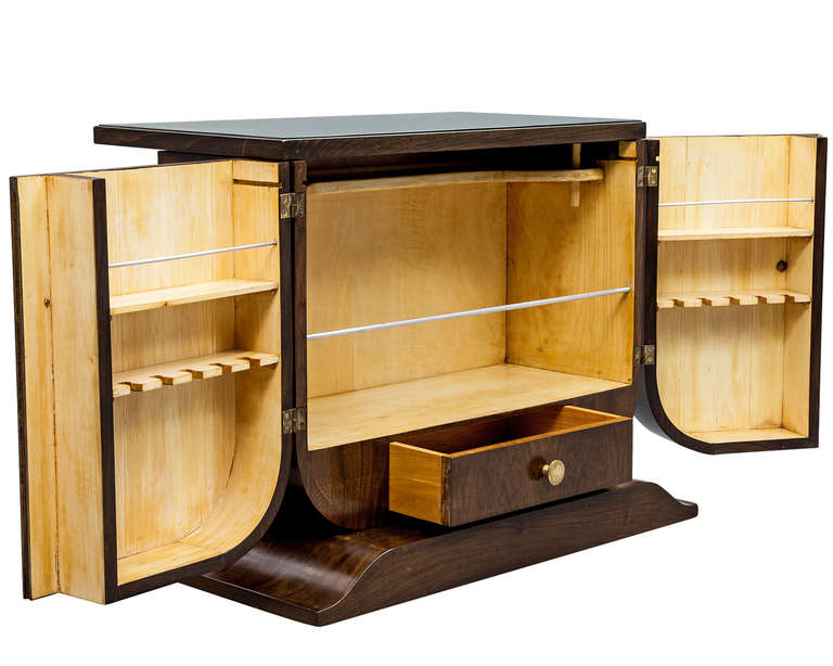 Vintage Art Deco Bar Cabinet At 1stdibs