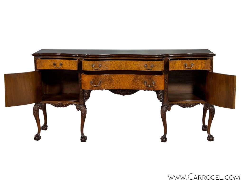 Chippendale Sideboard With Ball And Claw Foot At 1stdibs