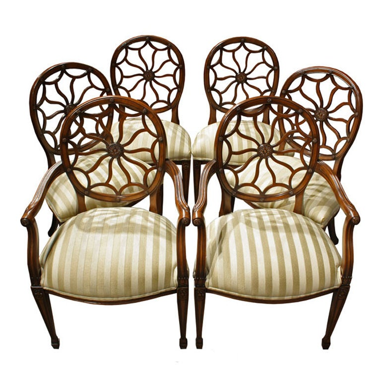 Spider Back Dining Room Chairs