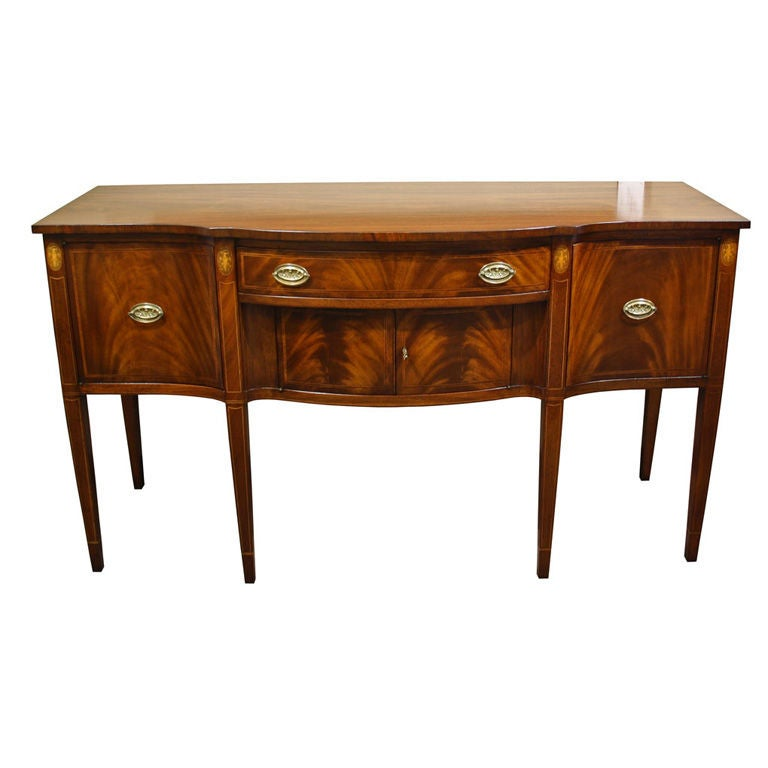 antique flamed mahogany hepplewhite sideboard buffet white built in dining room buffet white built in dining room buffet