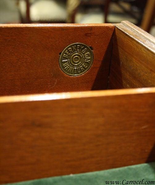 Antique Mahogany and Walnut Sideboard Buffet Berkey & Gay 10