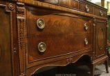 Antique Mahogany and Walnut Sideboard Buffet Berkey & Gay image 4