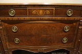 Antique Mahogany and Walnut Sideboard Buffet Berkey & Gay image 6
