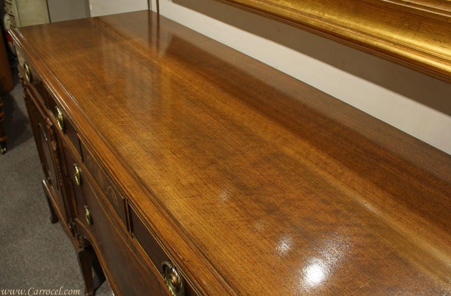 Antique Mahogany and Walnut Sideboard Buffet Berkey & Gay 7