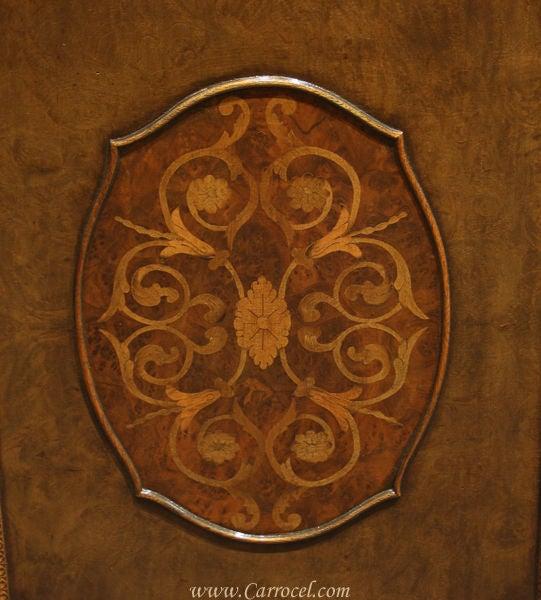 Antique Mahogany and Walnut Sideboard Buffet Berkey & Gay 8