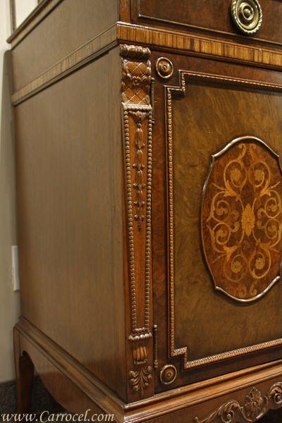 Antique Mahogany and Walnut Sideboard Buffet Berkey & Gay 9