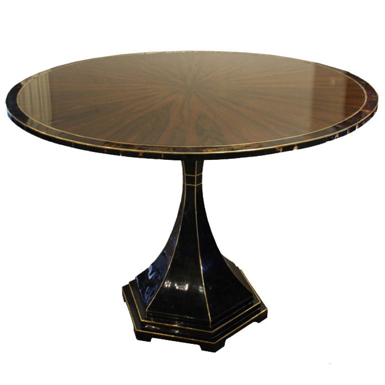 Art Deco Foyer Table : Rosewood art deco hall console table at stdibs