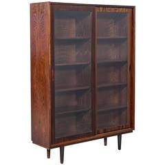 Vintage Rosewood Bookcase