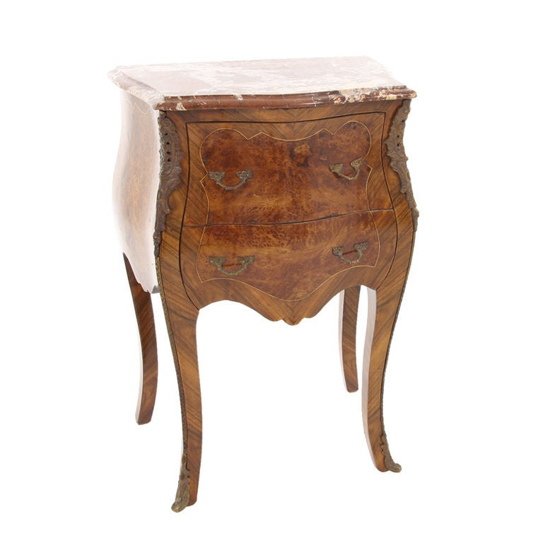 ANTIQUE 19th CENTURY LARGE OVAL SOLID CARVED WALNUT MARBLE ...  |Antique Marble Top End Tables