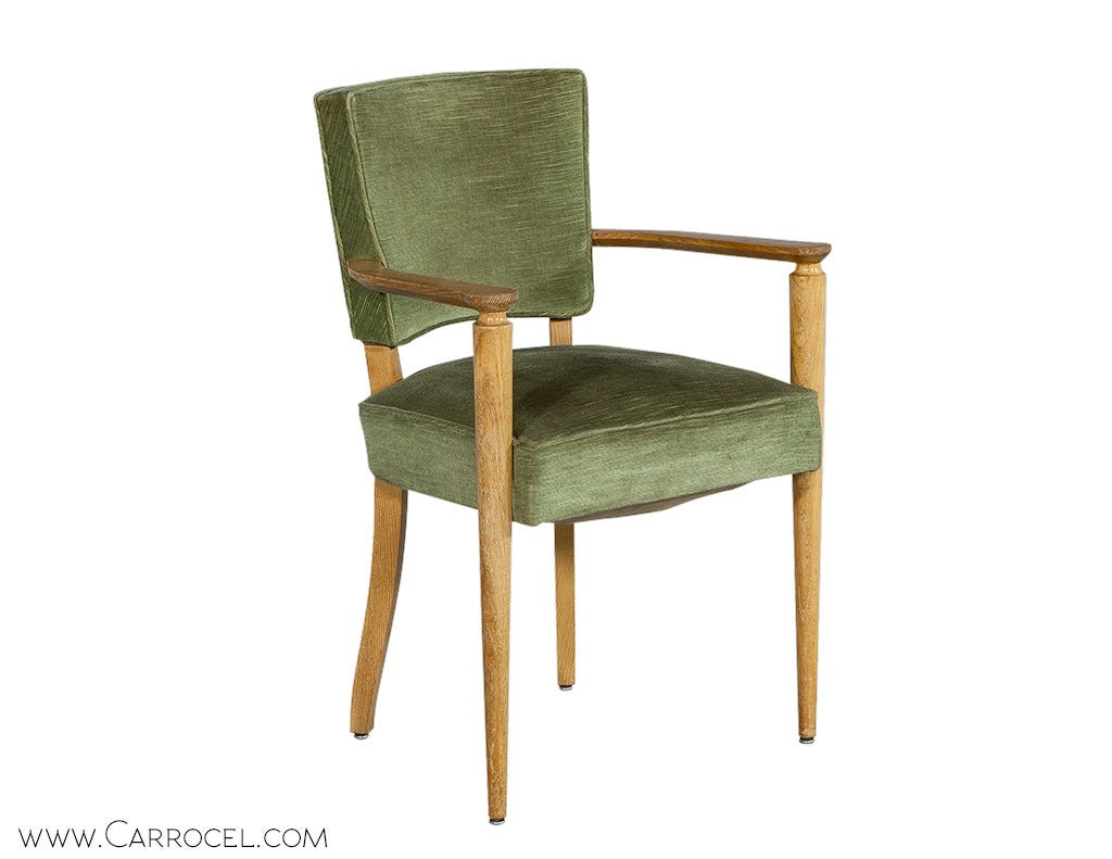 Set Of Four Antique Art Deco Dining Chairs At 1stdibs