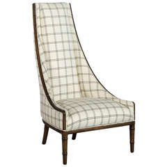 Vintage High Back Lounge Chair