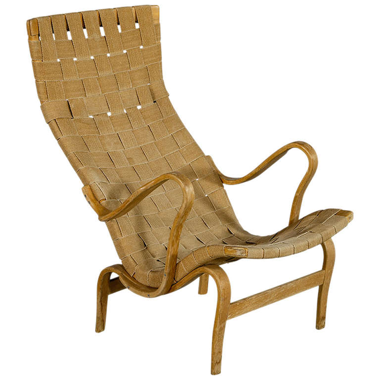 Superieur Pernilla Lounge Chair By Bruno Mathsson For Sale