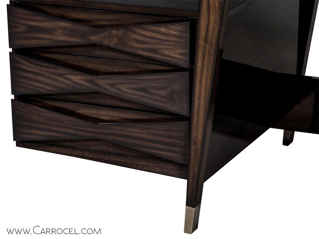 Carrocel Custom Floating-Top Mid Century Executive Desk For Sale 3