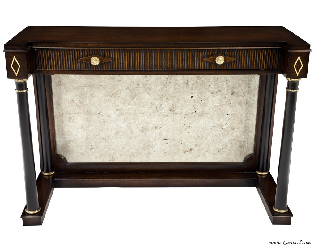 empire pr antique entrance console hall tables with