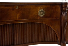 Antique  Mahogany English Sideboard by Schmieg and Kotzian image 3