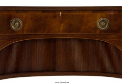 Antique  Mahogany English Sideboard by Schmieg and Kotzian image 7