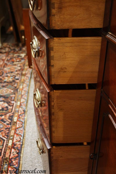 20th Century Antique Solid Mahogany Sideboard Buffet by Drexel