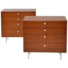 Pair of Thin Edge Chests by George Nelson for Herman Miller