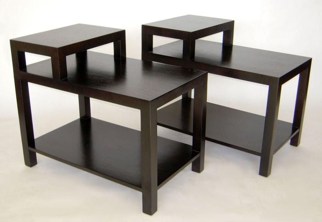 Pair Of End Tables By T H Robsjohn Gibbings For