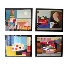 Cubist Art Series by Max Papart