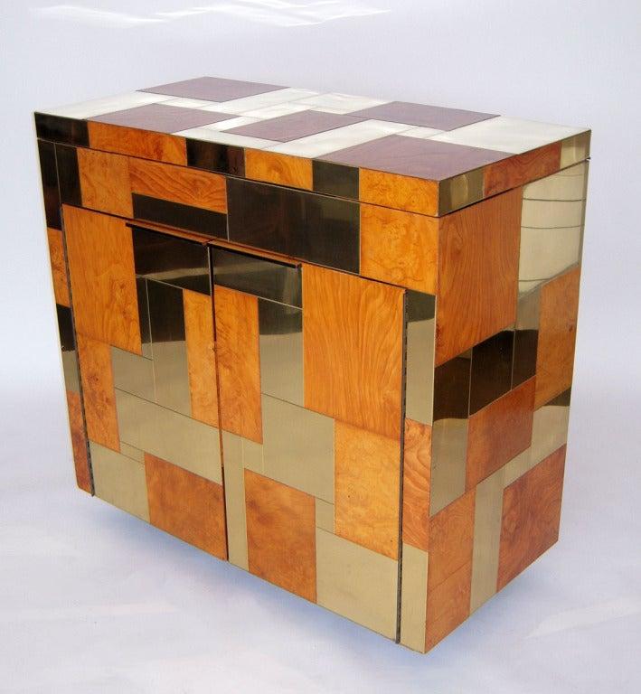Flip Top Bar Cabinet by Paul Evans 2