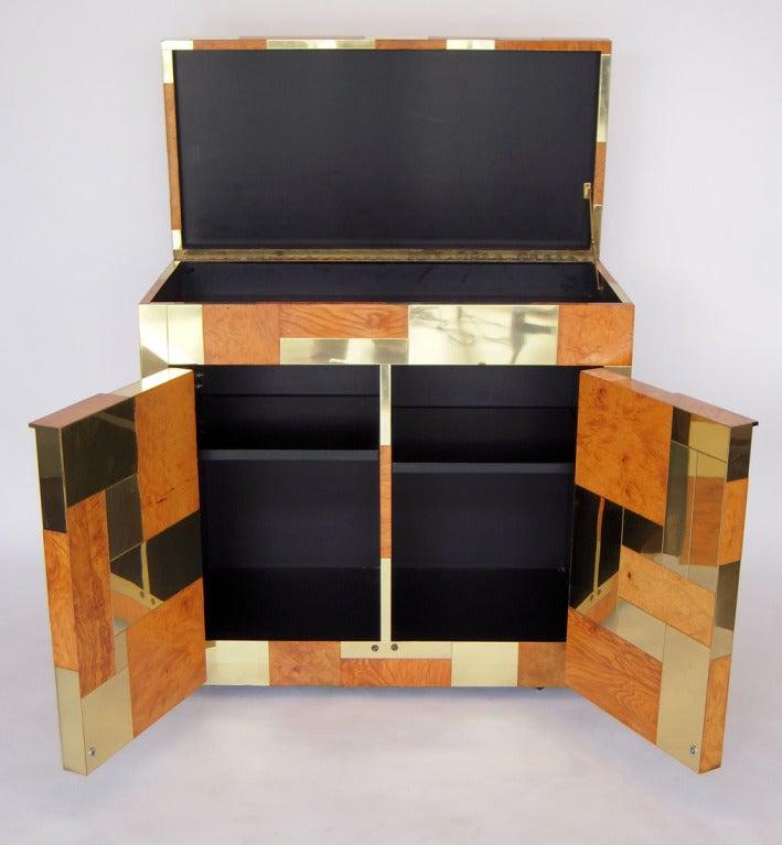 Flip Top Bar Cabinet by Paul Evans 4