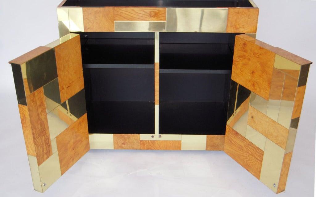 Flip Top Bar Cabinet by Paul Evans 5