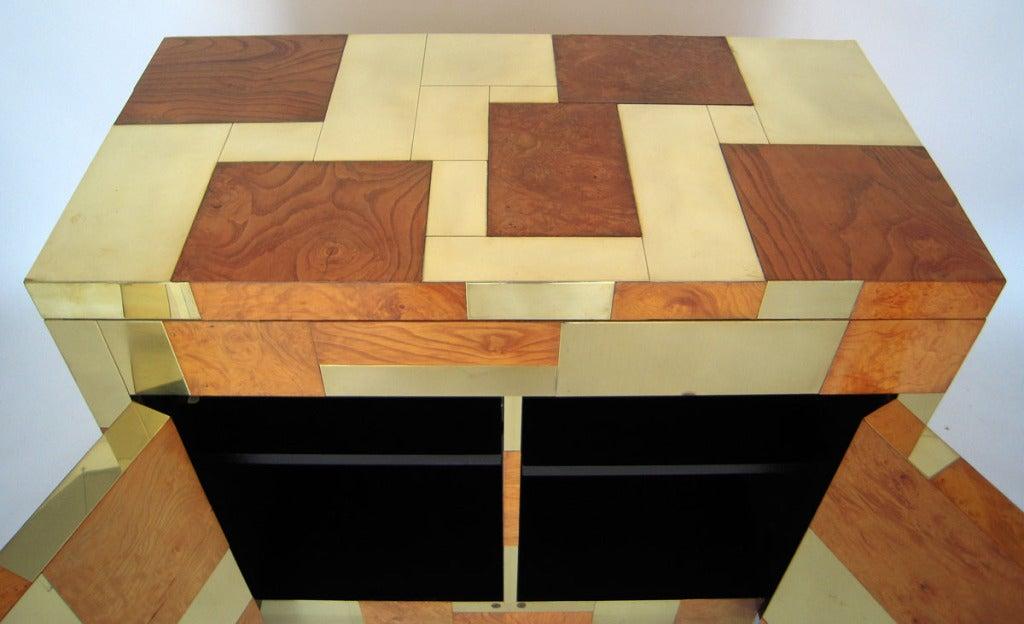Flip Top Bar Cabinet by Paul Evans 6