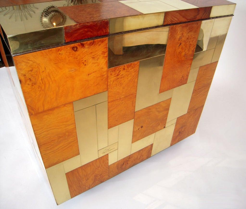 Flip Top Bar Cabinet by Paul Evans 7