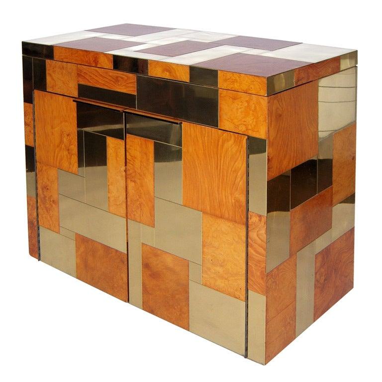Flip Top Bar Cabinet by Paul Evans 1