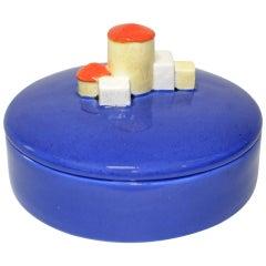 Wiener Werkstätte Glazed Earthenware Box