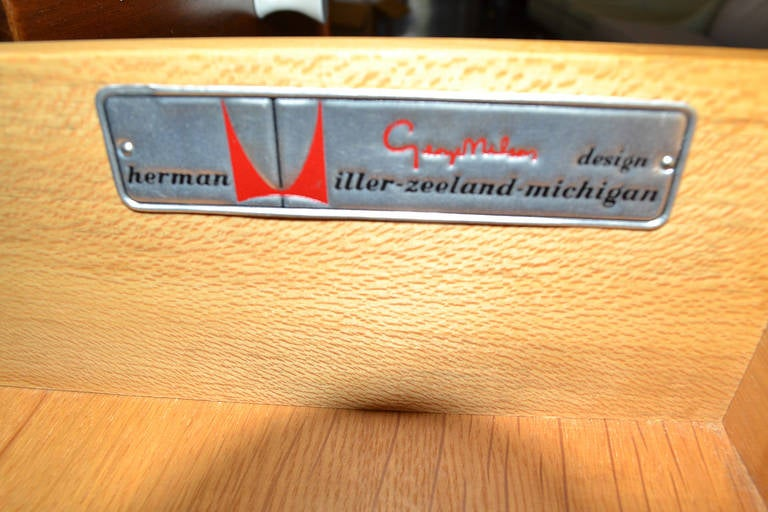 "George Nelson ""Thin Edge"" for Herman Miller Chest of Drawers 8"