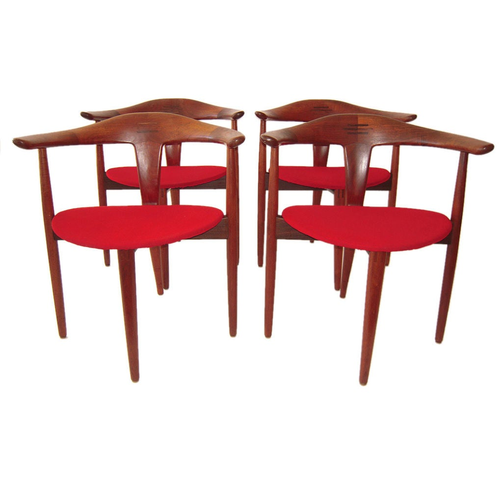 danish modern dining chairs at 1stdibs