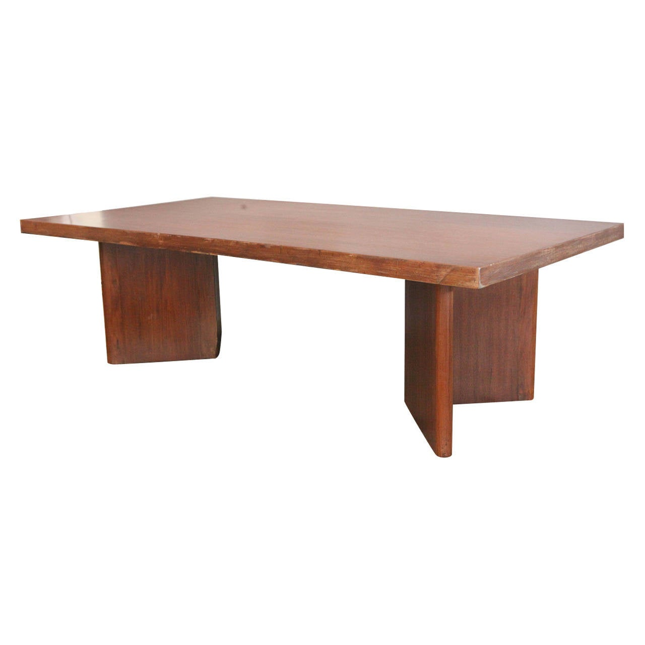 Pierre jeanneret university library table chandigarh