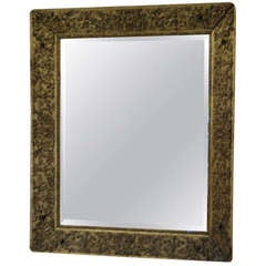 18th Century Gilded French Mirror