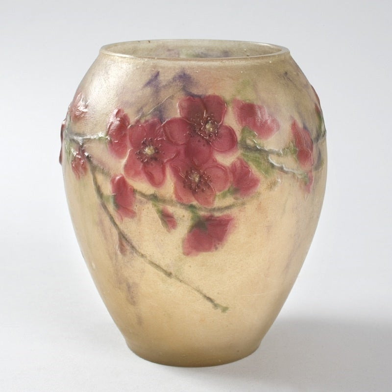 argy rousseau deco p 226 te de verre vase at 1stdibs