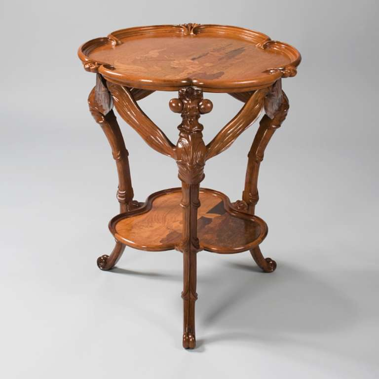 Emile Gall Dragonfly Table At 1stdibs