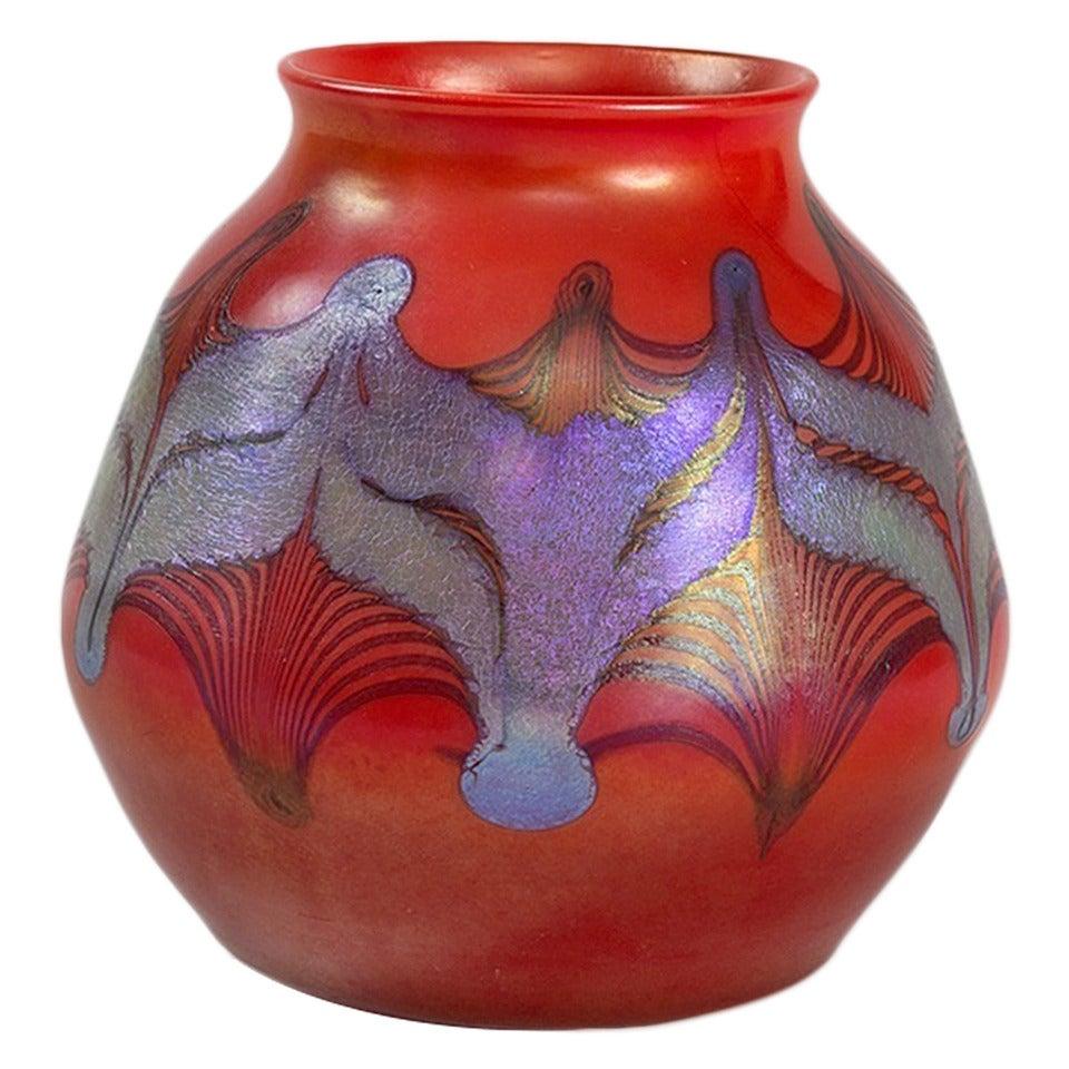 Tiffany studios new york favrile glass vase for sale at 1stdibs tiffany studios new york favrile glass vase reviewsmspy