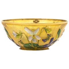 Thesmar Petite Coupe Sur in Enamel and Gold